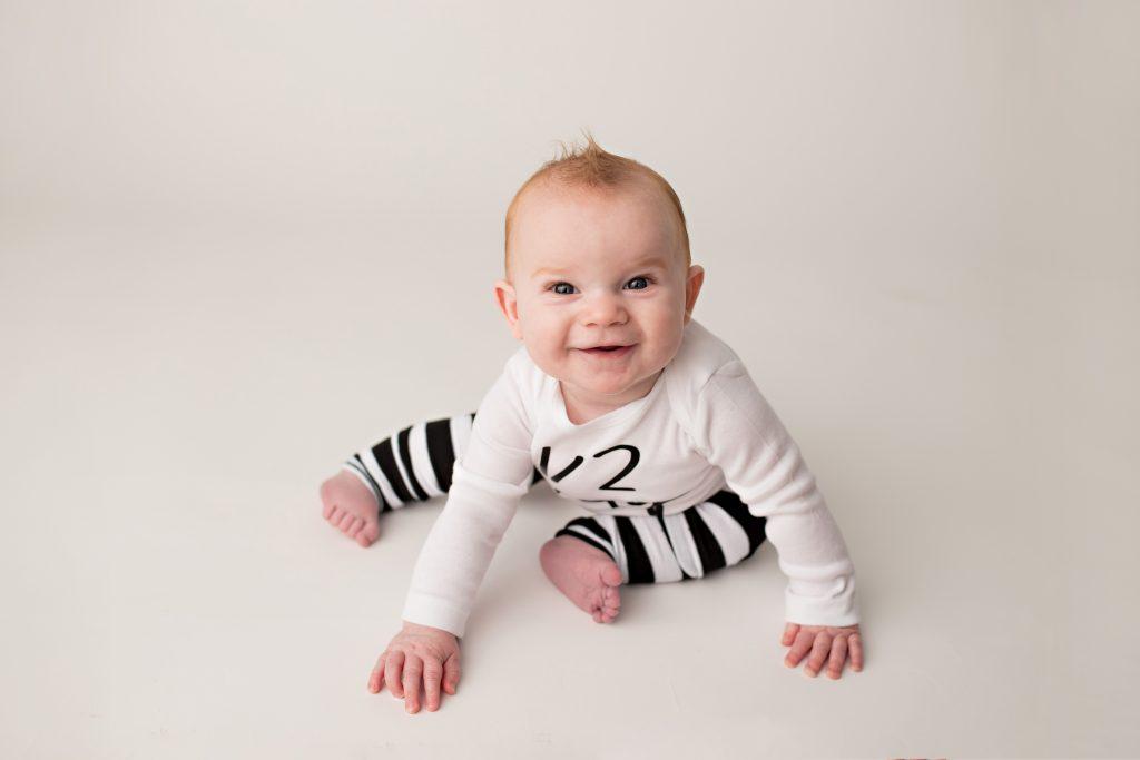 baby milestone photo